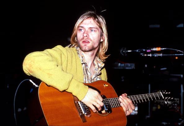 Nirvana-Frontmann Kurt Cobain