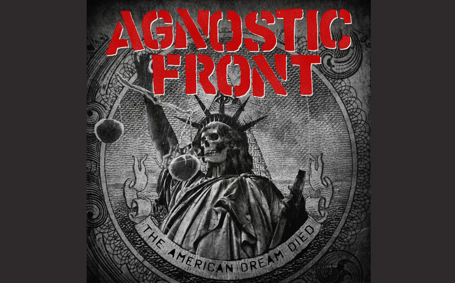 Agnostic Front THE AMERICAN DREAM DIED Cover