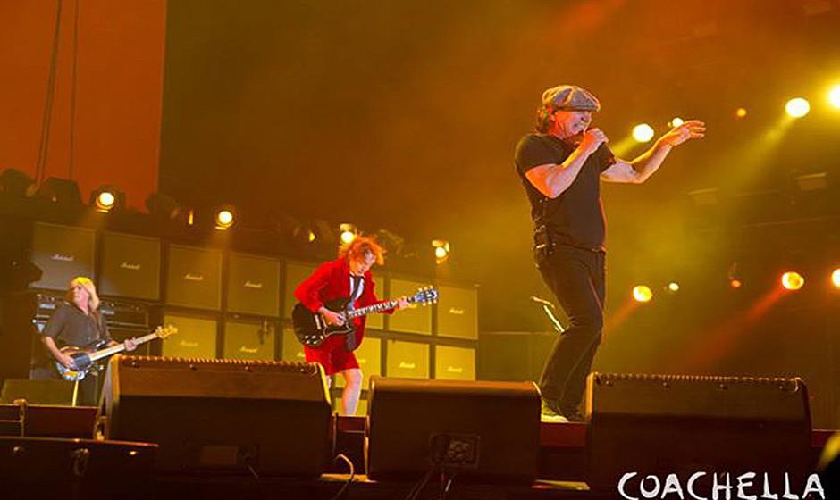 AC-DC live bei 'Coachella' 2015