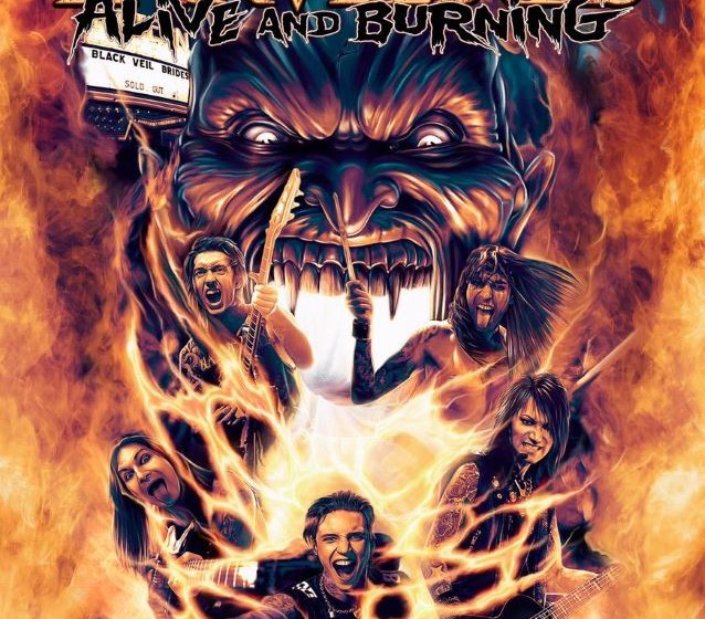 Black Veil Brides ALIVE AND BURNING