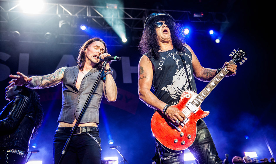 Slash & Myles Kennedy live, 23.12.2014, Köln