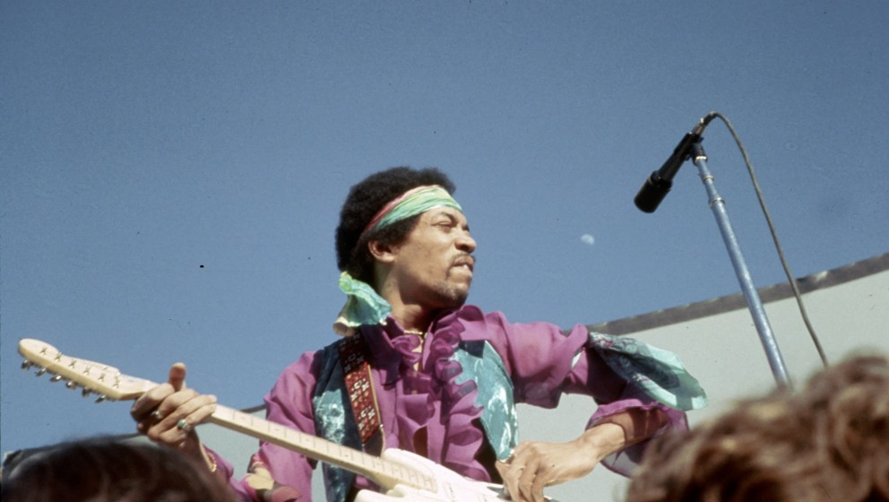 UNSPECIFIED - JUNE 1969:  Photo of Jimi Hendrix  (Photo by Vince Melamed/Michael Ochs Archives/Getty Images)