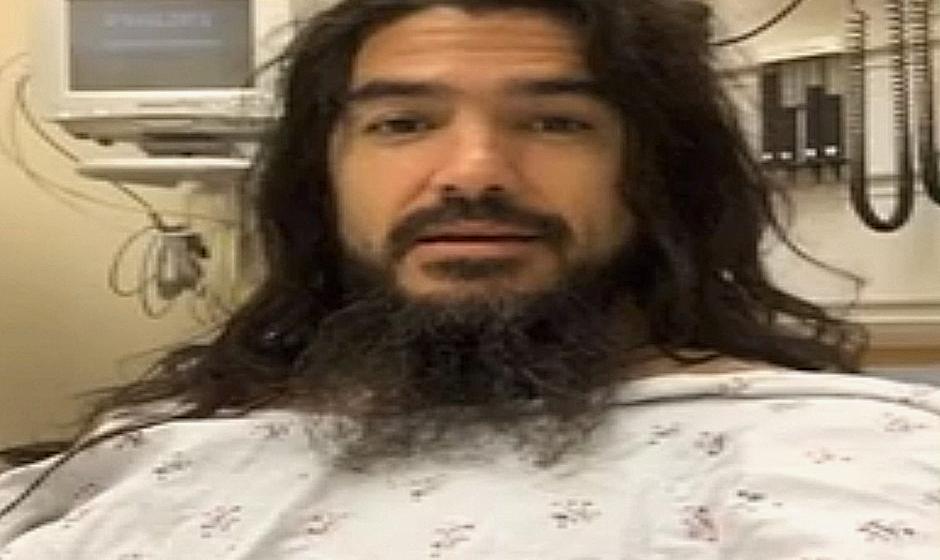 Rob Flynn im Krankenhaus