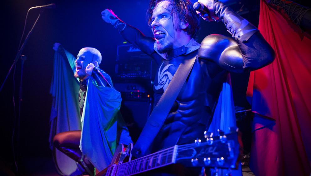 Grailknights live, Wacken Road Show, 08.11.2014, Oberhausen