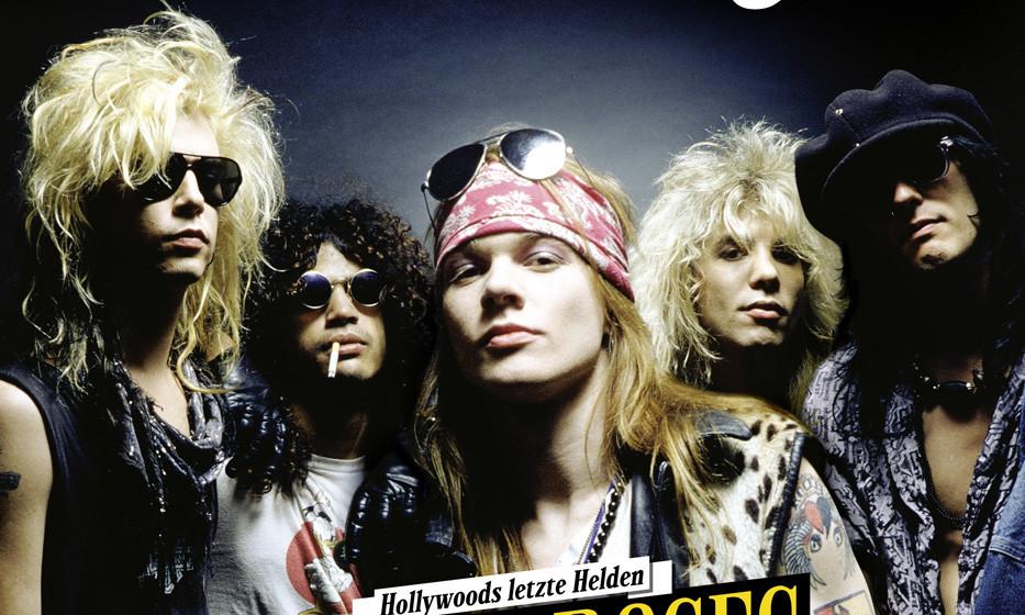 Guns N' Roses-Sonderheft ROCK HISTORY presented by METAL HAMMER