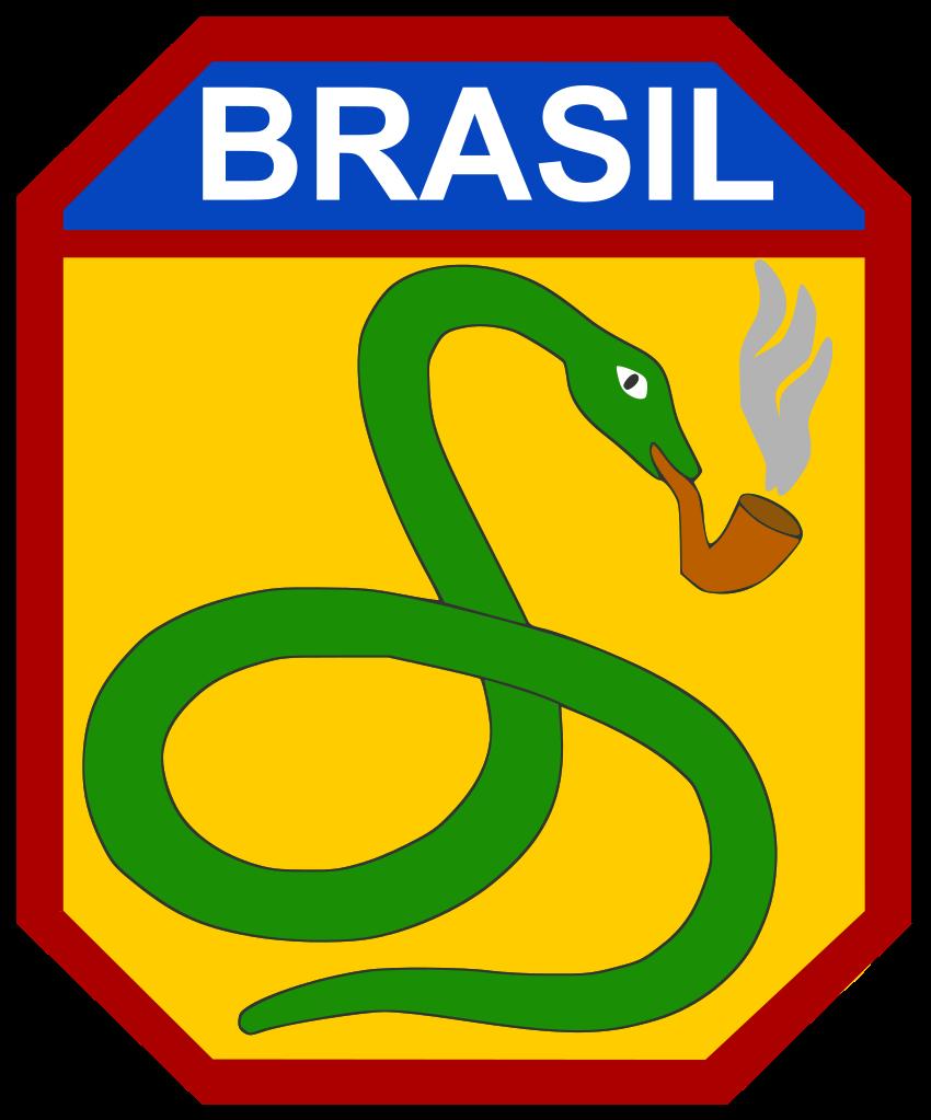 Das Wappen des brasilianischen Expeditionskorps