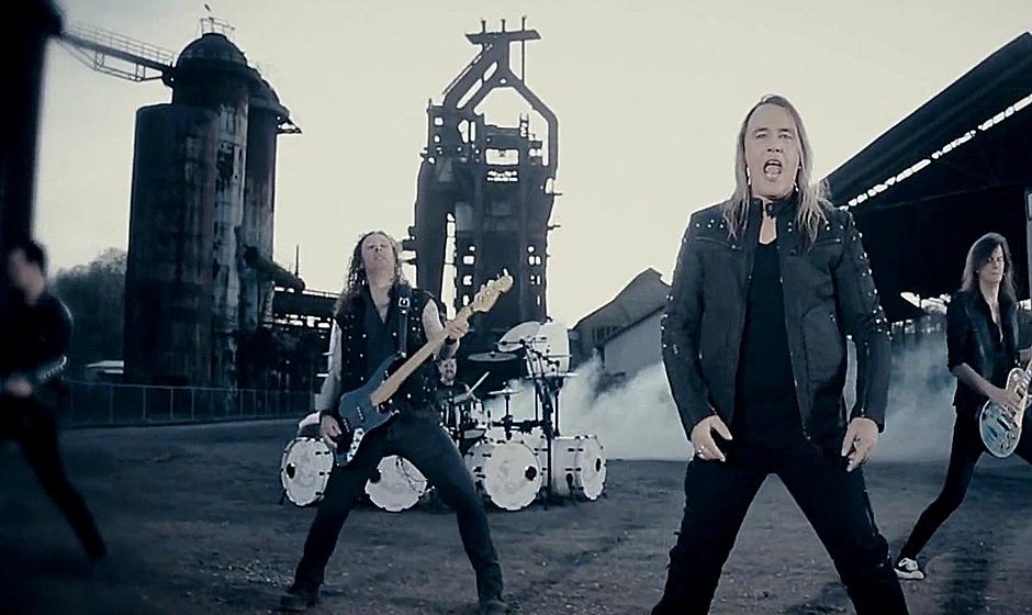 Ausschnitt aus dem Video zum Helloween-Song 'My God-Given Right'