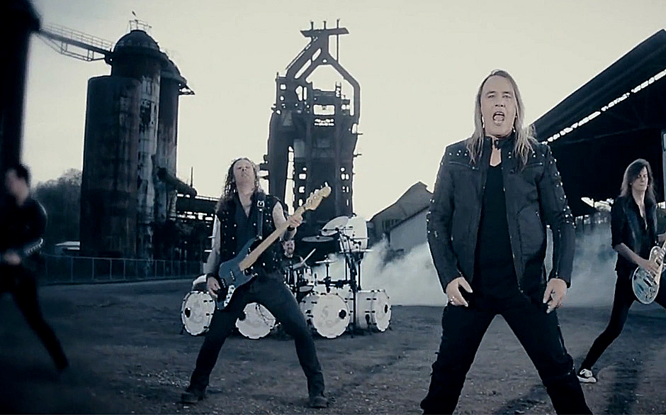 Ausschnitt aus dem Video zum Helloween-Song 'My God-Given Right'