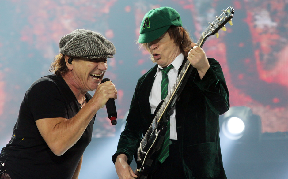 Im Pit Bei Acdc Vintage Trouble
