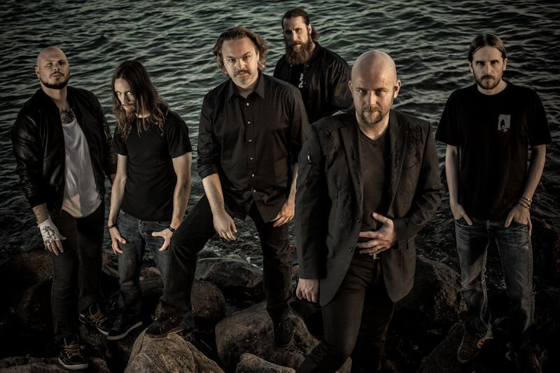 Soilwork (2012): Björn 'Speed' Strid, Dirk Verbeuren, Sylvain Coudret, Ola Flink, David Andersson, Sven Karlsson