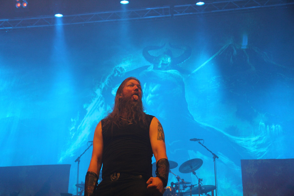 Amon Amarth live, Earshakerday 2012