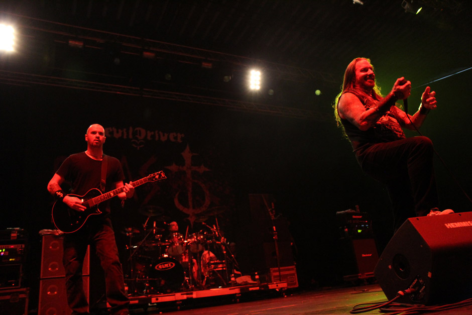 Devildriver live, Earshakerday 2012