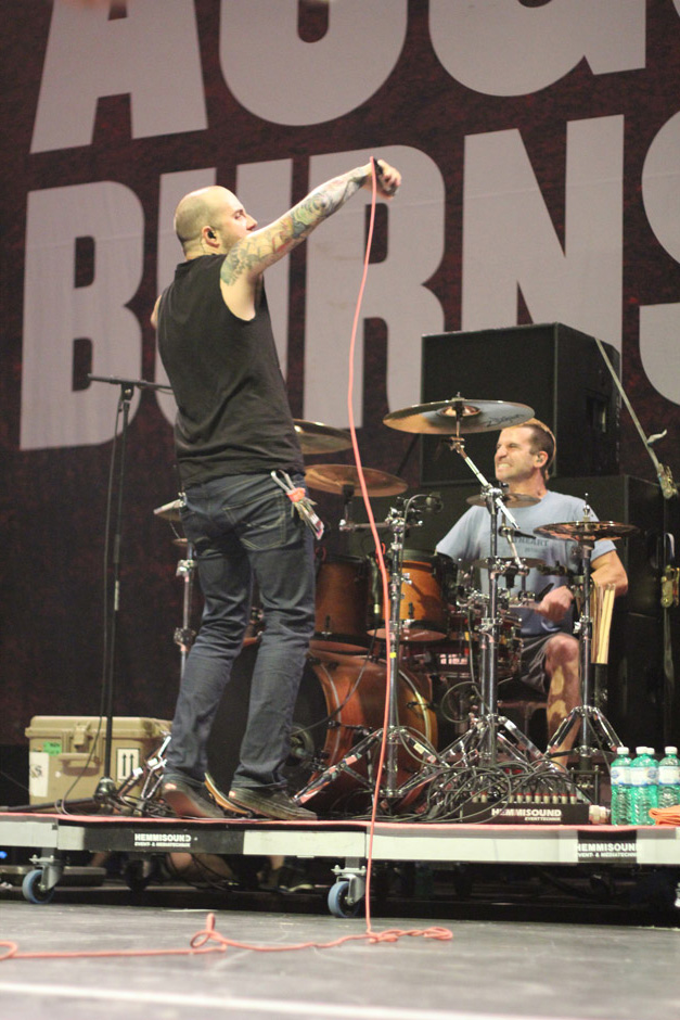 August Burns Red live, Earshakerday 2012