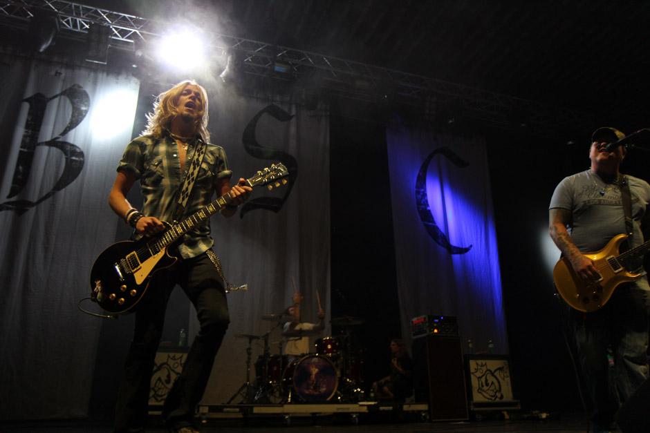 Black Stone Cherry live, Earshakerday 2012