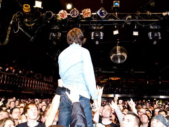 Bring Me The Horizon, live, 09.11.2011 Hamburg, Große Freiheit