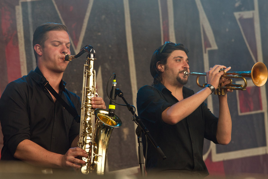 Broilers, With Full Force, 01.07.2012