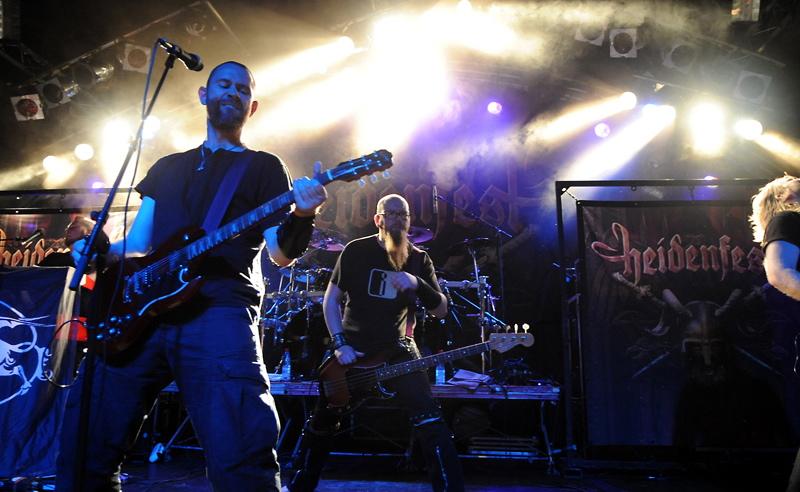 Skálmöld , live, 06.10. Hamburg, Markthalle