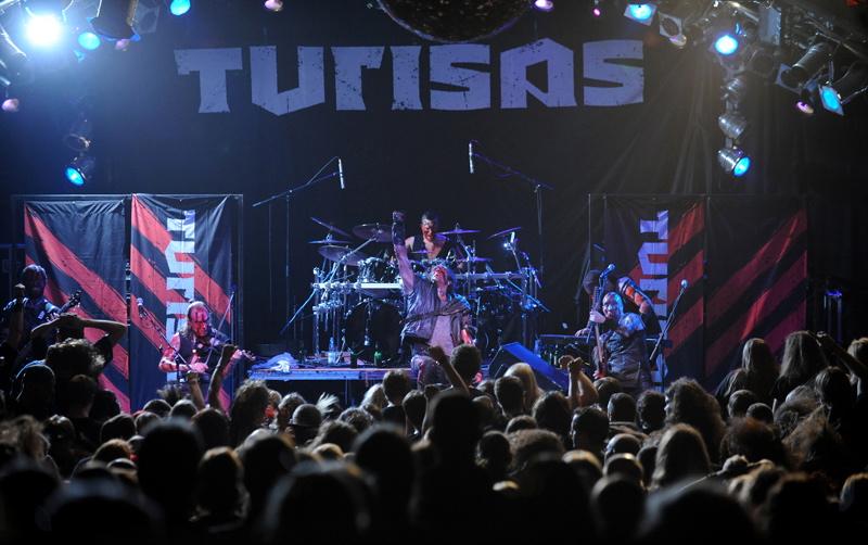 Turisas, live, 06.10. Hamburg, Markthalle