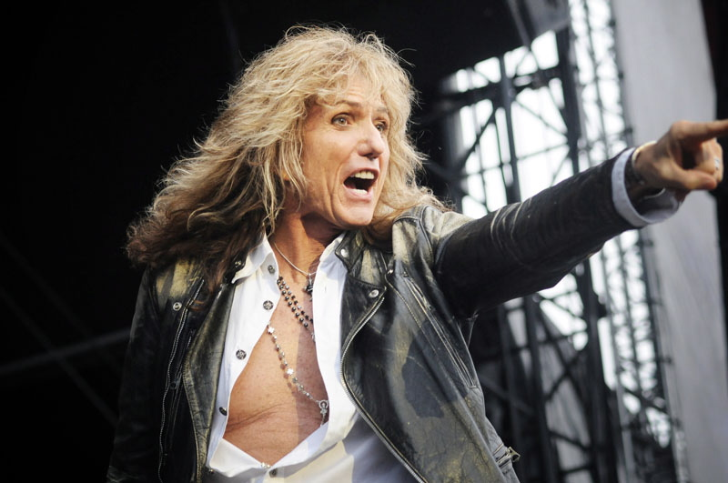 David Coverdale von Whitesnake, Graspop Metal Meeting 2011