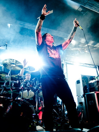 DevilDriver, live, 09.11.2011 Hamburg, Große Freiheit