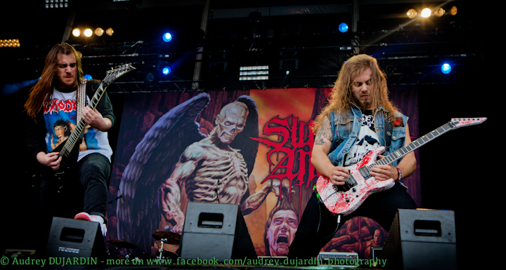Hellfest 2012  - Suicidal Angels