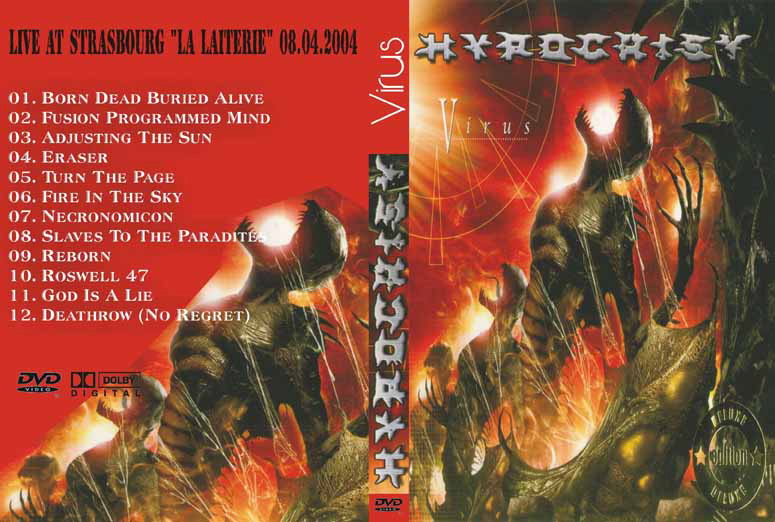 Hypocrisy, Cover-Artwork