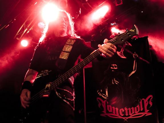 Lonewolf, live, 29.04.2012 Hamburg, Markthalle