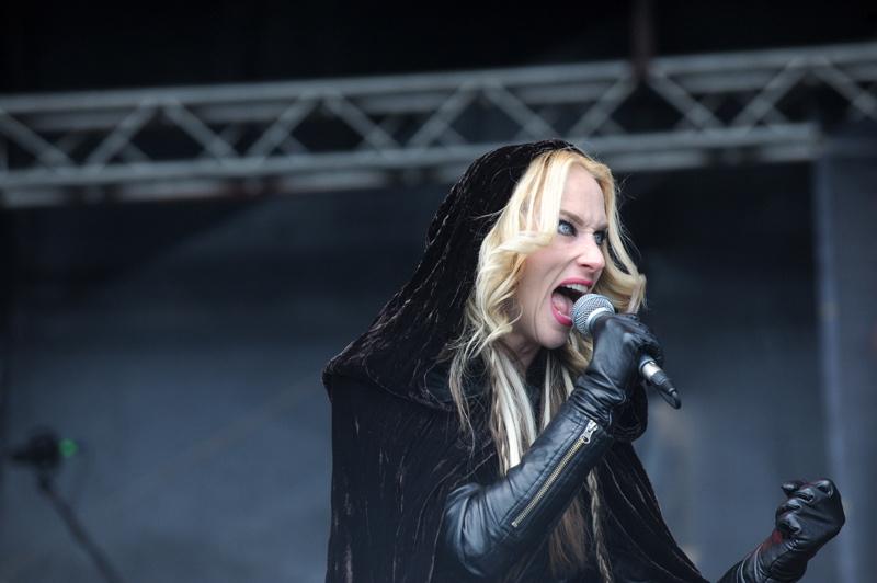Huntress auf dem Metalfest 2012, Dessau