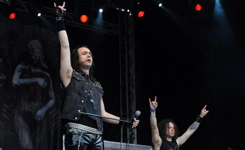 Moonspell auf dem Metalfest 2012, Dessau