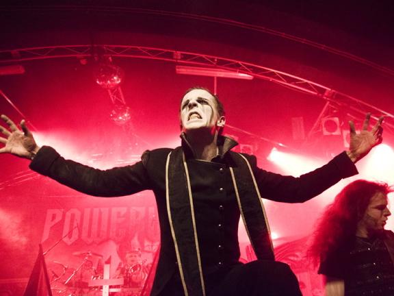 Powerwolf, live, 29.04.2012 Hamburg, Markthalle