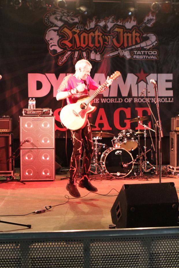 TV Smith auf dem Rock'n'Ink 2012