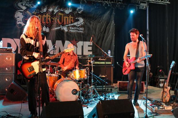 The Experimental Tropic Blues Band auf dem Rock'n'Ink 2012