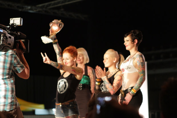 Tattoo Model Contest auf dem Rock'n'Ink 2012