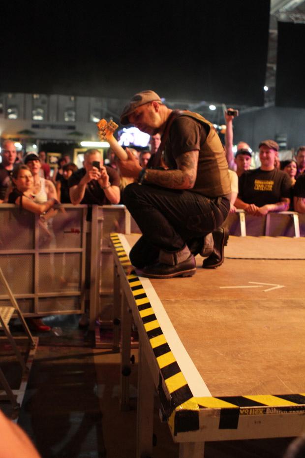 Matt Gonzo Roehr auf dem Rock'n'Ink 2012