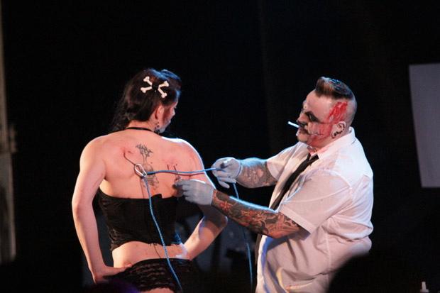 Freakshow auf dem Rock'n'Ink 2012