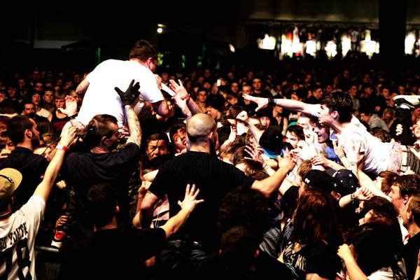 Your Demise, live, 21.04.2012 Leipzig