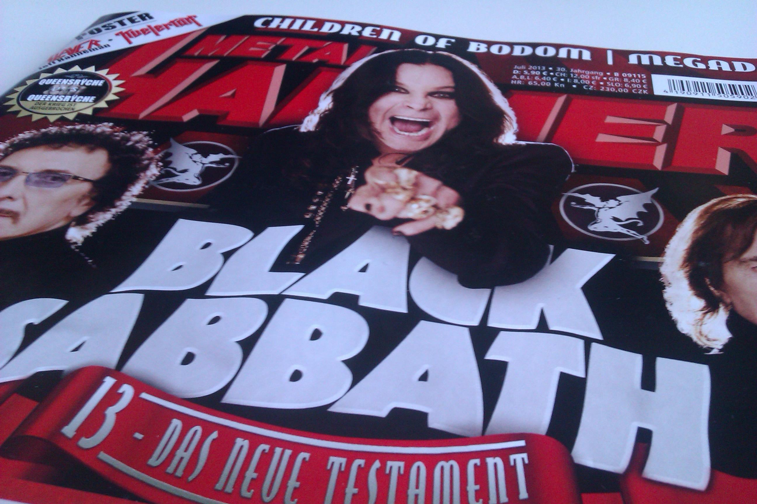 METAL HAMMER-Ausgabe Juli 2013