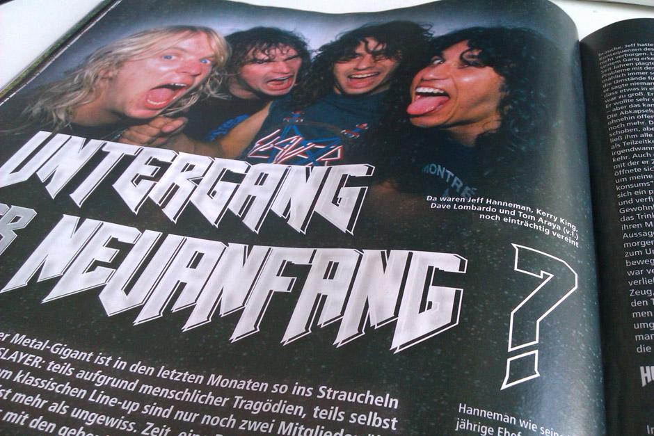 METAL HAMMER-Ausgabe August 2013