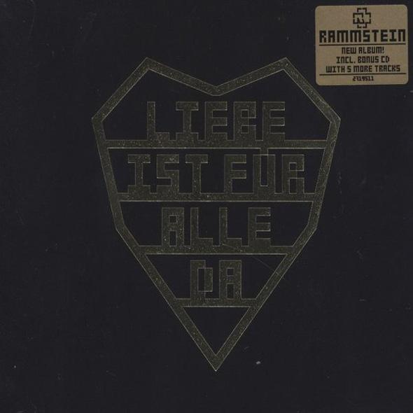 Rammstein - Liebe ist für alle da - Single