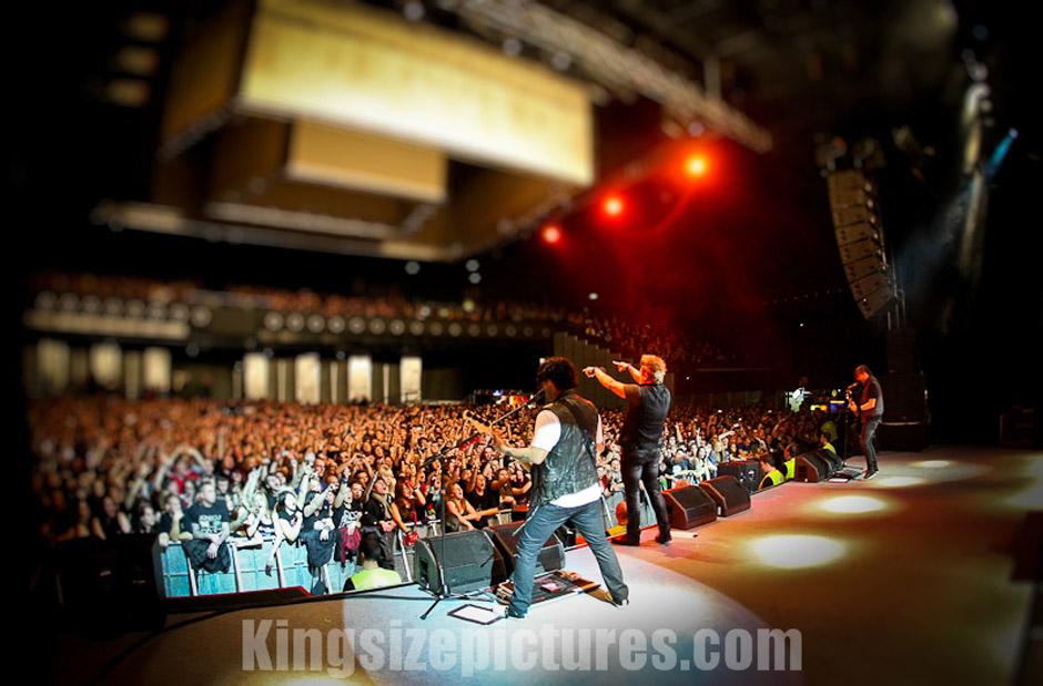 Papa Roach live, 30.11.2012, Wien