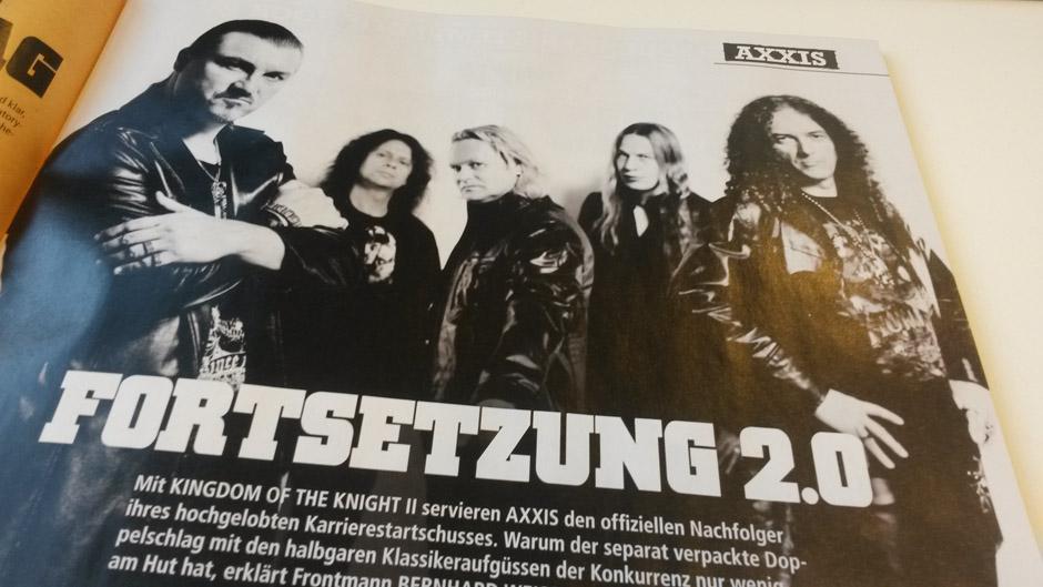 METAL HAMMER-Ausgabe März 2014