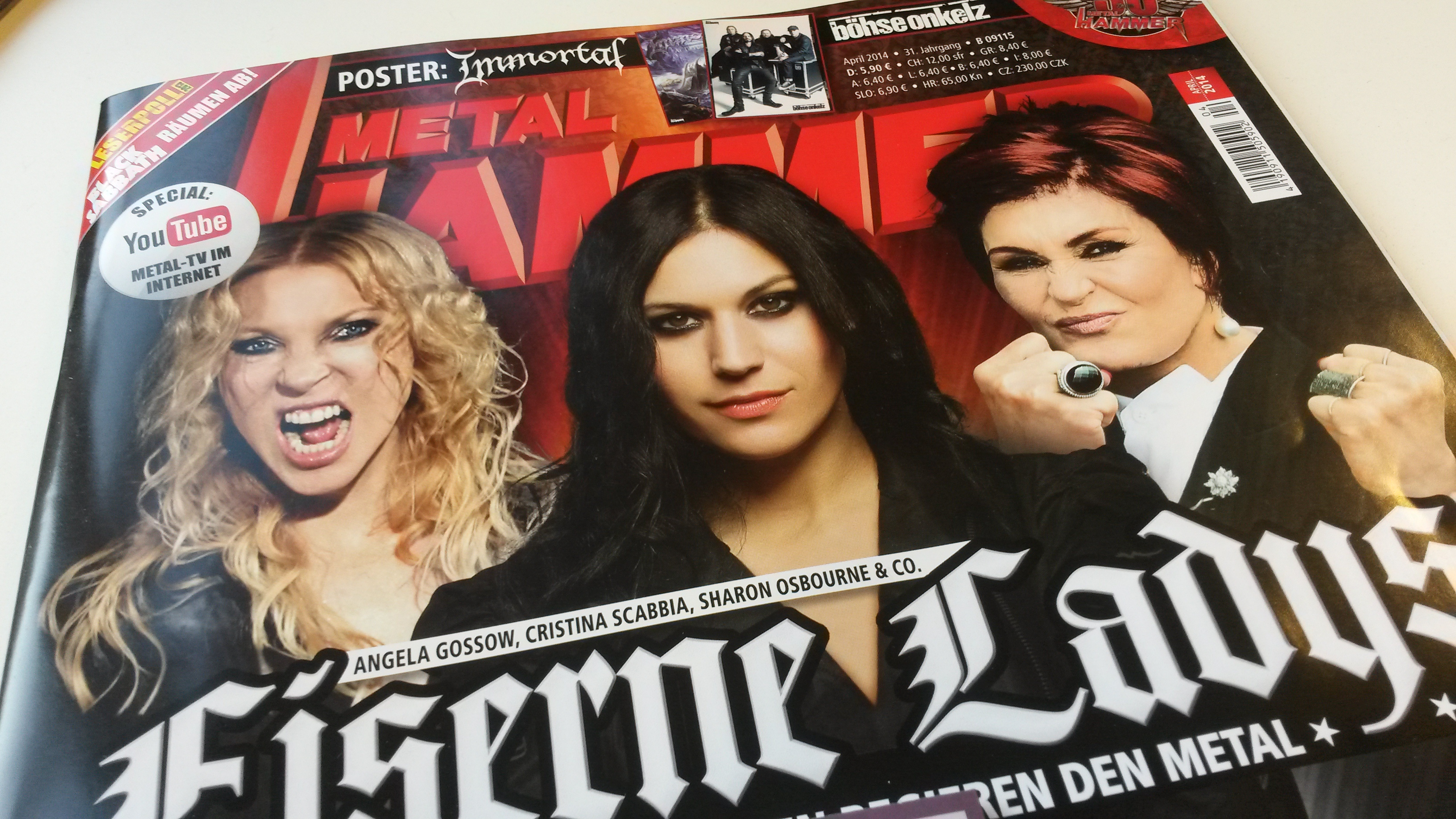 METAL HAMMER-Ausgabe April 2014