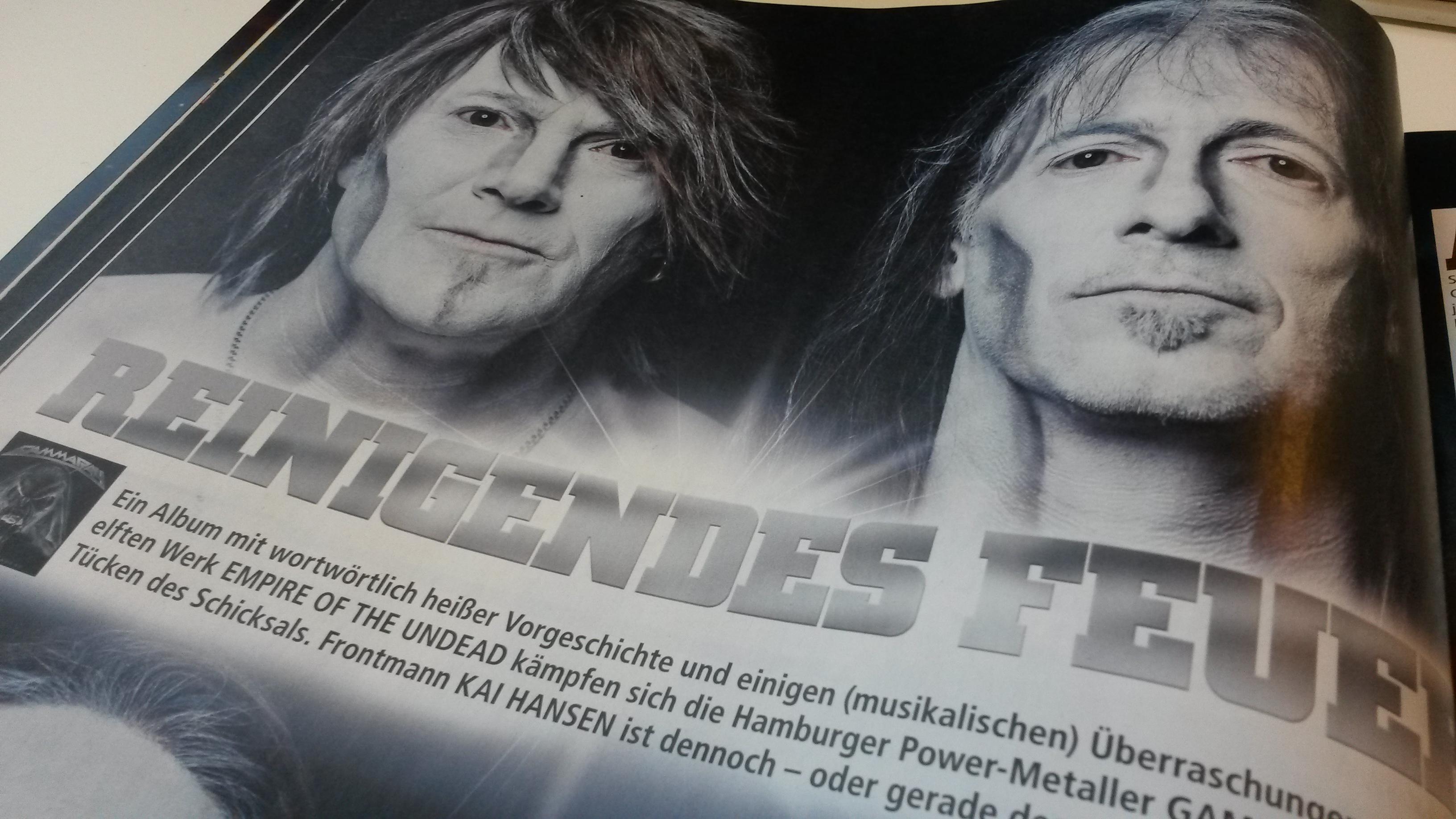 METAL HAMMER-Ausgabe April 2014