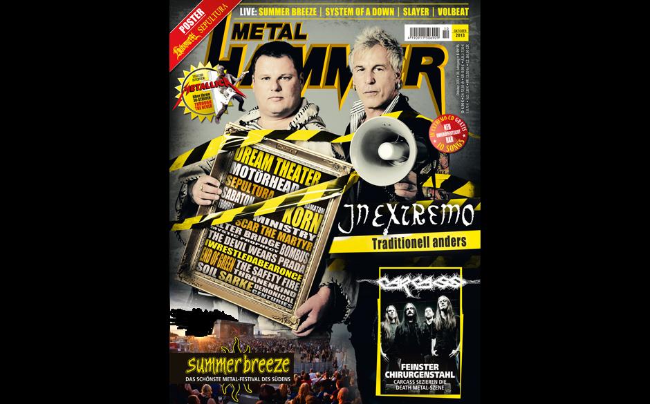 METAL HAMMER-Ausgabe 10/2013