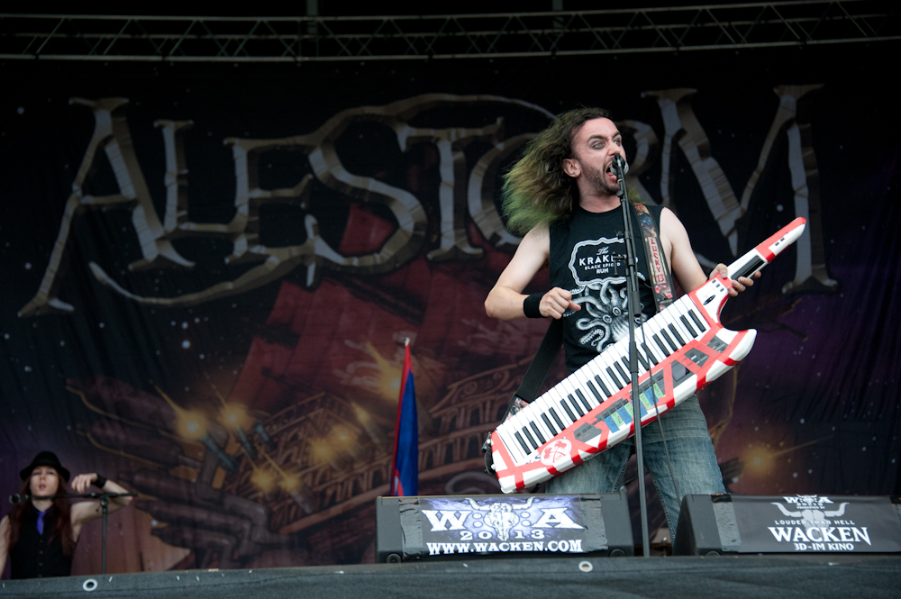 Alestorm live, Wacken Open AIr 2013