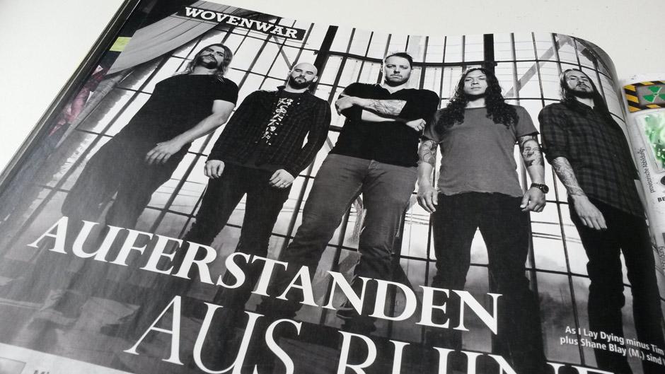 METAL HAMMER-Ausgabe August 2014
