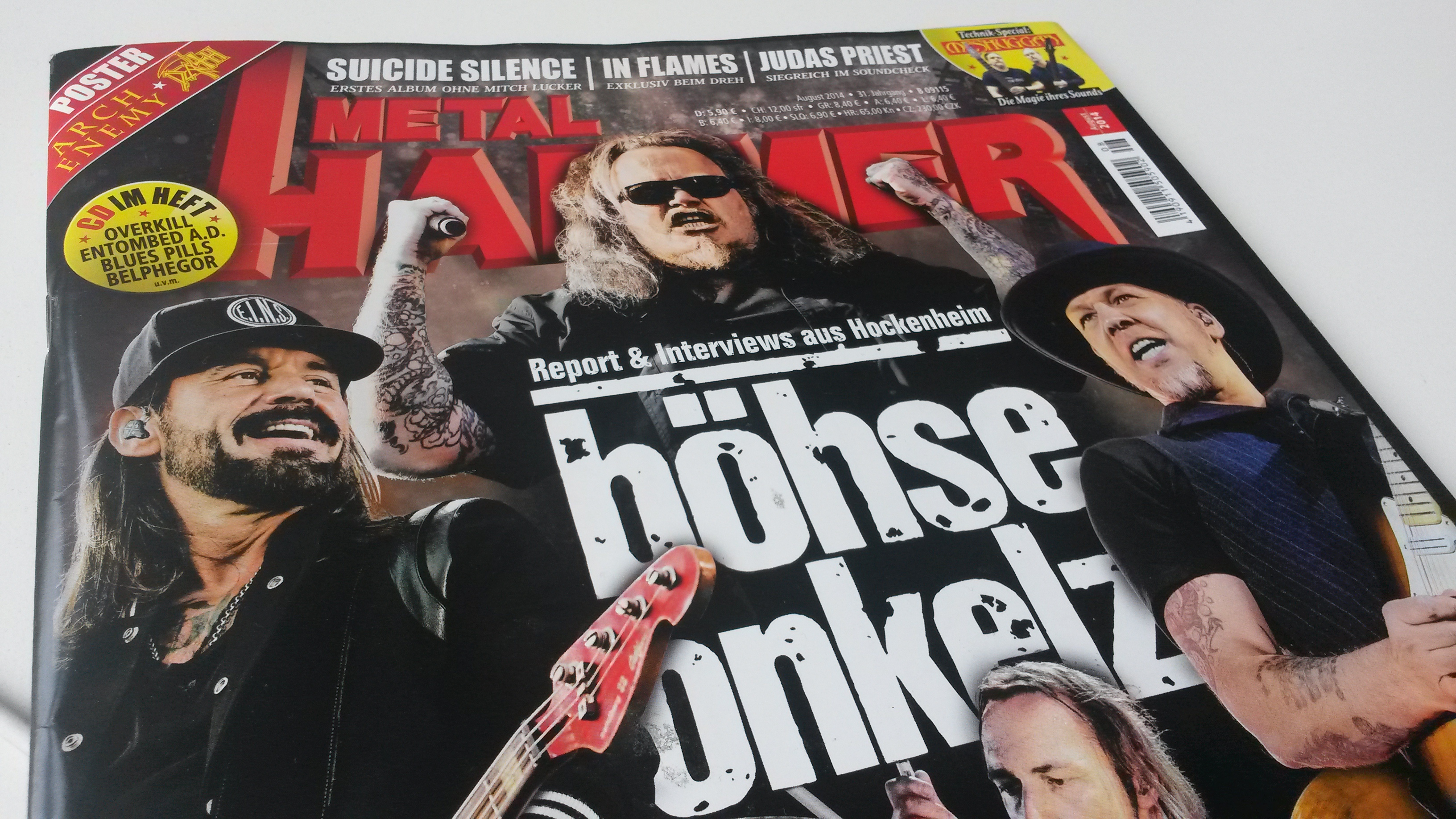 METAL HAMMER-Ausgabe 08/2014