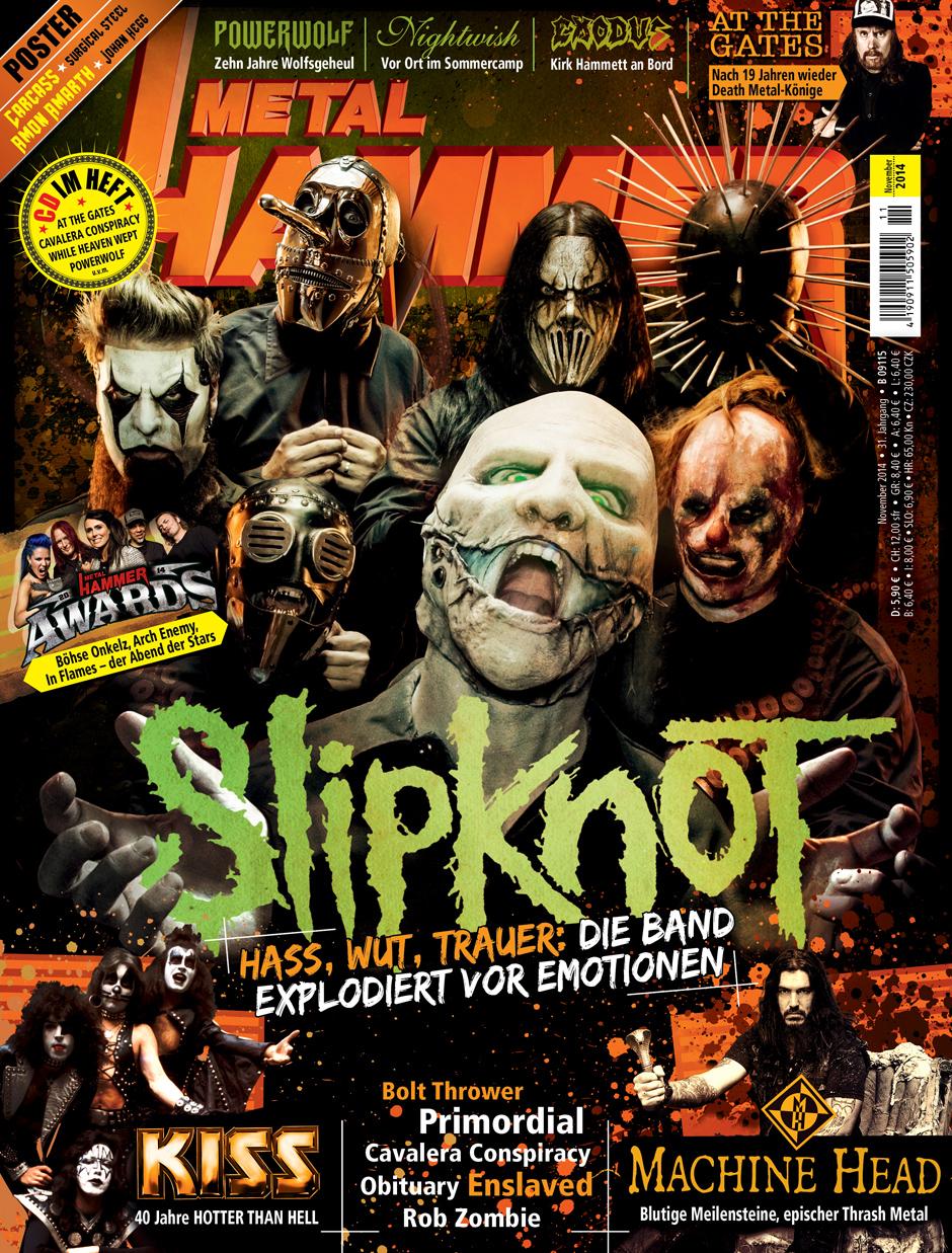 METAL HAMMER-Ausgabe 11/2014