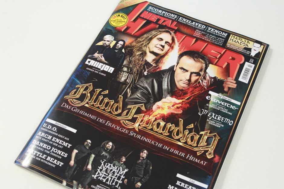 METAL HAMMER-Ausgabe Februar 2015