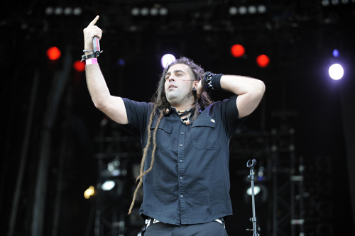 Ill Niño-Sänger Cristian Machado live beim Wacken Open Air 2015 (Foto: Sight Of Sound)